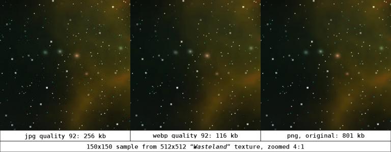 JPEG WebP comparison.