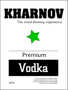 kharnov vodka, the mind-blowing experience