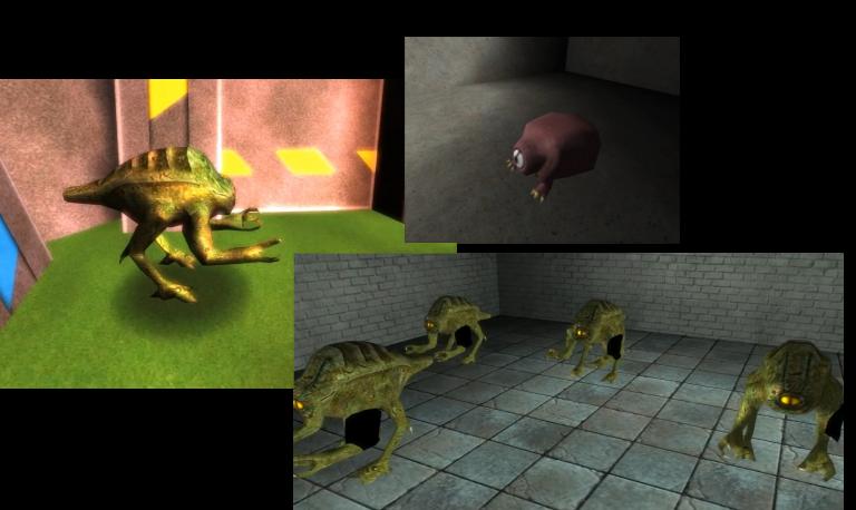 Yokai work-in-progress screenshots