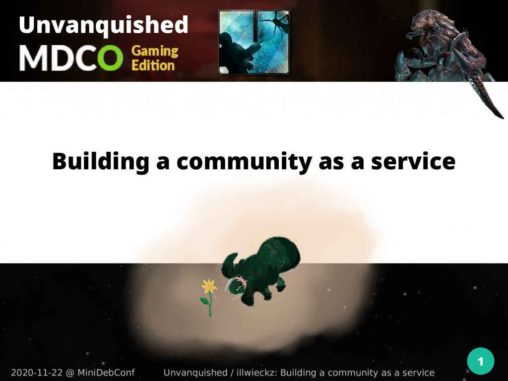 Mini Deb Conf: building a community as a service