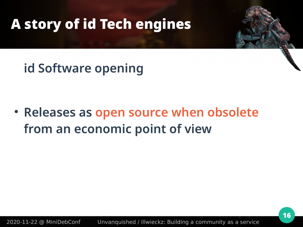 Release as open-source when obsolete