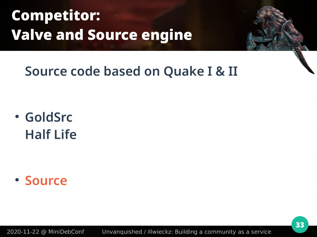 Valve Gold Source based on Quake