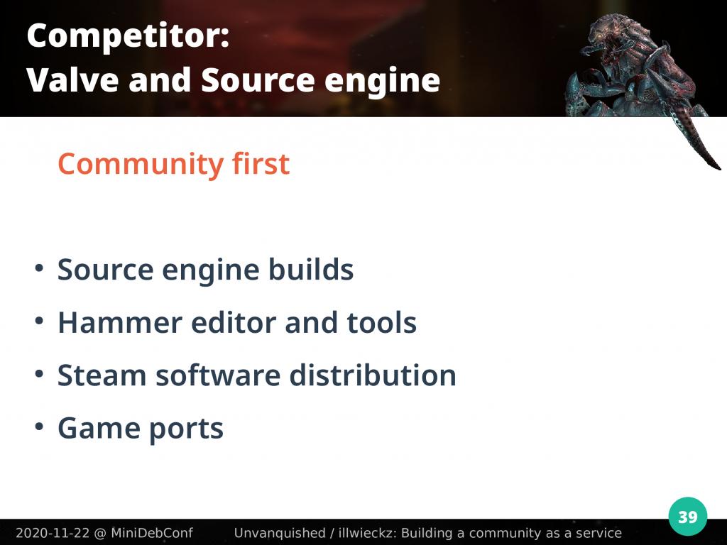 Valve: community first