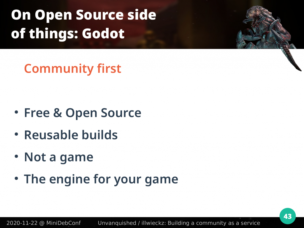 Godot: Community first