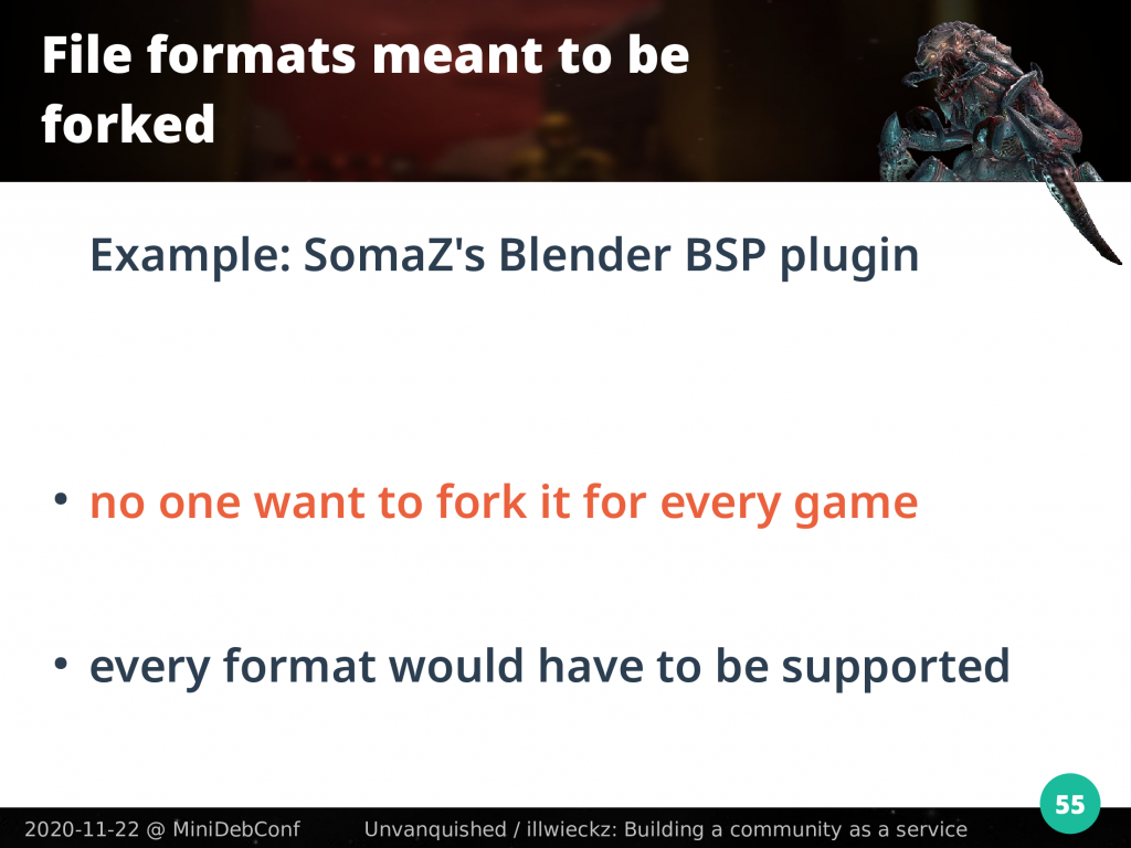 Example of SomaZ Blender plugin: no one wants to fork it for every game