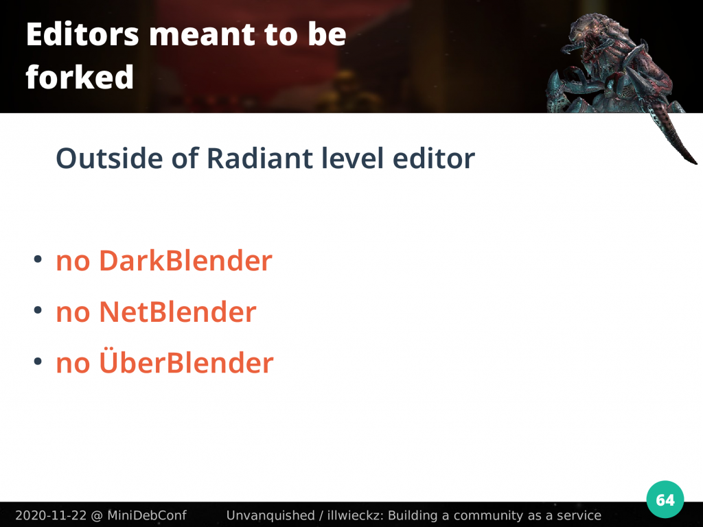 There is no DarkBlender, no NetBlender, no ÜberBlender